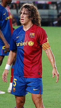 FC Barcelona football club captain